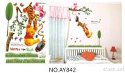OEM Removeble Kids Cartoon Wall Decals Stickers Kids Room Wall Stickers