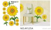OEM Removeble Flowers  Wall Decals Flower Bedroom Wall Art Stickers