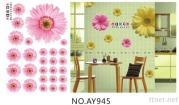 OEM Removeble Flowers Wall Decals Flower Dining Room Wall Art Stickers On Mike86.Com