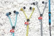 Unique Tangle-free Zipper Earbuds