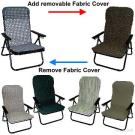 Healthy Wooden-beads Folding Settee/Chair
