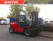 Master 8T, 10T, 12T Diesel Forklift Truck With Japan ISUZU Engine