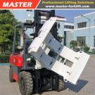 3T Forklift With Paper Roll Clamp