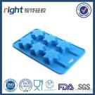 Silicone Ice Tray With 6 Cavities (Star Shape), Dongguan Right Silicone