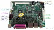 Mini-Itx Intel D525 Industrial Motherboard NC-D525-NM0
