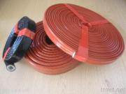 Silicone Rubber Coated Fiberglass Fire Sleeve