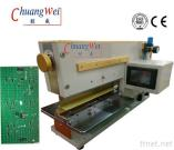 PCB Separator PCB V Cut Machine With Pneumatically Driven / Electromagnetic Valve Control