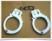 Keyless Toy Handcuffs (Unlocking From Side & With 2 Keys) #MTD-T103C