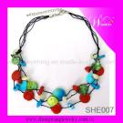 Fashion Shell Bead Necklace