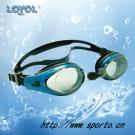 High End Liquid Silicone Swimming Goggle with Oil Coating