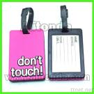 Luggage Tag Customized Cartoon Pvc Travel Luggage Tag Manufacturer