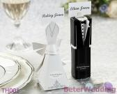 Bride And Groom Wedding Favor Boxes, Place Card Holders Candy Box