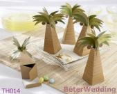 Palm Tree Wedding Favor Box As Wedding Decoration And Party Decoration Wedding Gift