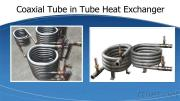 Coaxial Corrugated Titanium Tubing Heat Exchanger