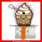 Ice Cream Soft Pvc Key Cover For Keys Protector