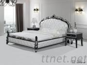 King Size Leather Bed, Luxury Leather Bed