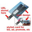 Credit Card USB Web Key, Wallet Usb Webkey