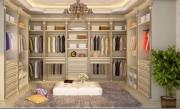 Solid Wood Integrated Wardrobe, Closet