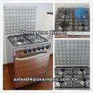 Freestanding Gas Cooking Range With Oven 600*500