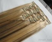 Most Popular Piano Color Clip In/On Human Hair Extension