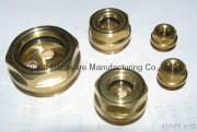 Brass Oil Level Sight Glass