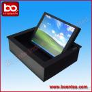 17 Inch LCD Monitor Flip Up System For Conference Table