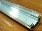 Plastic lamp cover for LED