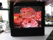 fnite movable backpack lcd advertising players