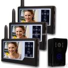 Full-Duplex 3.5 Inch Color Display Touch Key Wireless Video Door Phone