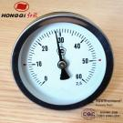 Industrial Bimetal Thermometer With Temperature Gauge C And F
