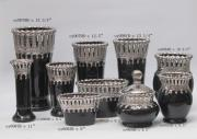 Black Glaze Ceramic Vases