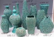 Pieced Ceramic Vases