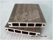 WPC hollow decking board