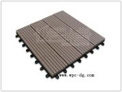 WPC DIY  decking tiles 300X300X22mm