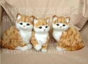 Lovely Cats Figurines Family Decoration Small Gifts