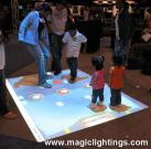 Interactive Projection Floor System (MagicLite)