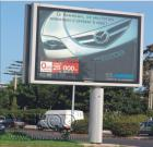 Outdoor Advertising Column Billboard