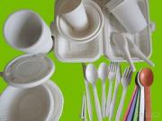 Cornstarch Tableware