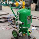 DB150 Dustless Blastiing Machine