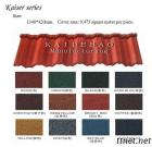 Stone Coated Metal Roofing Tile (KD2015)