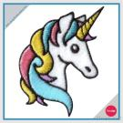 Iron On Unicorn Embroidered Patch