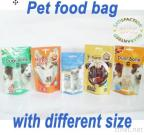 Stand Up Pet Food Bag