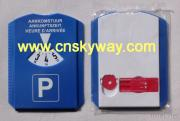 Euro Auto Plastic Parking Disc With Ice Scraper And Chips