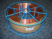 0.60Mm To 1.6Mm Co2 Gas Shielded Welding Wire In Copper-Coated