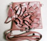 Squared Ladies Leather Bags
