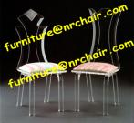 acrylic dining chair