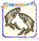 Embroidery Fish Patch (EM-006)