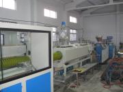 PE Plastic Carbon Spiral Pipe Extrusion Line