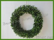 Boxwood Wreath For Home Decoration