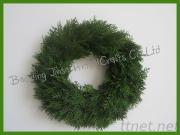 Cypress Wreath For Home Decoration